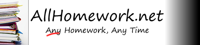 AllHomework.net | Hire / pay an expert to do all your homework assignments and papers